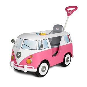 Mini Veículo Kombina Rosa - Calesita