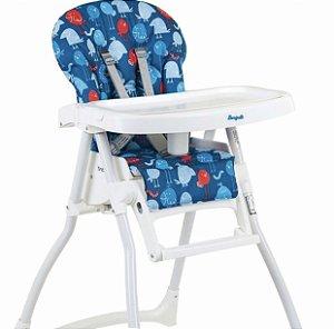 Cadeira Refeição Merenda Passarinho Azul - Burigotto