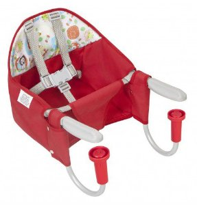 Cadeira Refeição portatil Vermelha