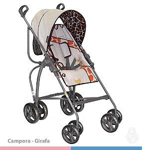 Carrinho de Bebê Campora Girafas - Galzerano