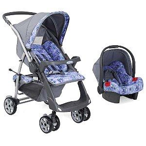 Conjunto Carrinho de Bebê Rio Plus e Bebê Conforto Toys