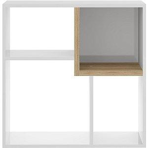 Nicho Branco em Cubos