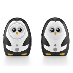 Babá Eletrônica Digital Pai Pinguim