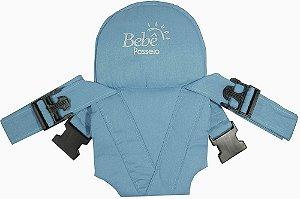 Bebê Passeio Canguru Azul