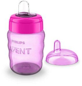 Copo 9+ Easy Sip 260 ml  Rosa - Philips Avent