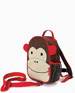 Mochila Skip Hop com Cinto Zoo Macaco
