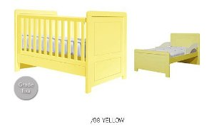 Berço Mini Cama Paola Yellow - Puppi Móbile
