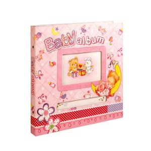 Álbum Baby Rosa Bebê 100 fotos 33x33