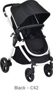 Carrinho de Bebê Soul Preto - Burigotto