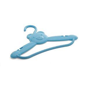 Cabide urso azul 2 peças - Cajovil