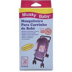 Mosquiteiro para carrinho e bebê conforto - Musky Baby