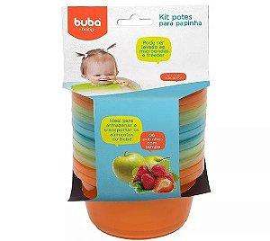 Kit 6 potes para papinha - Buba