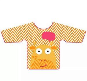 Babador com manga  Girafa - Multikids baby