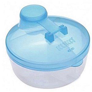 Porta leite em Pó Azul - Kuka