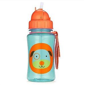 Garrafinha Zoo Dog com canudo - Skip Hop