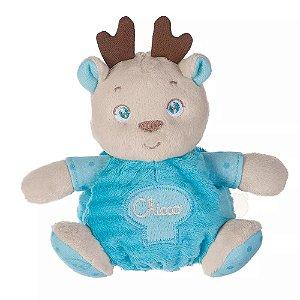 Brinquedo Bebê Urso Soft Cuddles Azul - Chicco