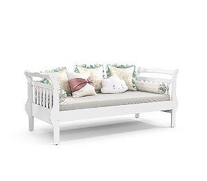 Cama Babá Bambini Branco Soft - Matic Móveis