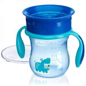 Copo 360 Perfect Cup 12 Meses+ Azul Chicco