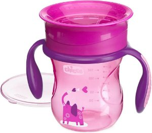 Copo 360 Perfect Cup 12 Meses+ Rosa Chicco