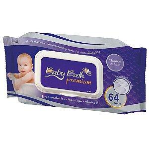 Lenços Umedecidos - Baby Bath Pocket c/64