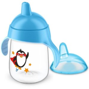 Copo pinguim 18+ azul 340 ml - Avent