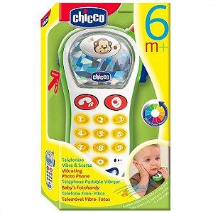 Brinquedo Telefone Vibra e Capta Chicco