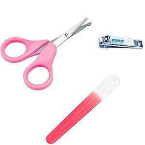 Kit Manicure Rosa - Kuka