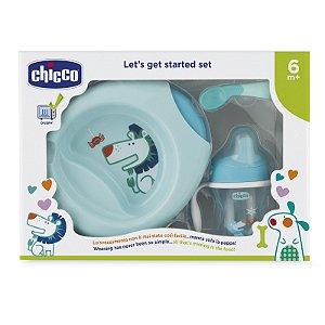 Kit de alimentação (6m+) Azul - Chicco