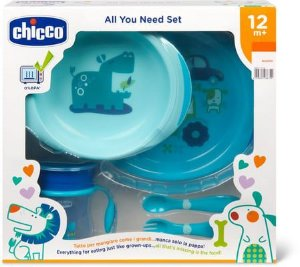 Kit de alimentação (12m+) Azul - Chicco