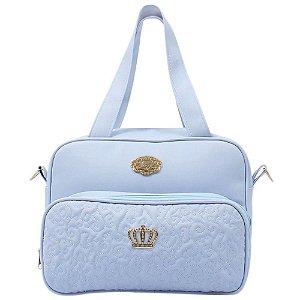 Bolsa Maternidade MImo G Azul Bebê Hug