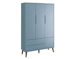 Rouperio 3 Portas Azul Theo  - Reller