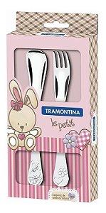 Kit Talher Rosa 2 Peças - Tramontina