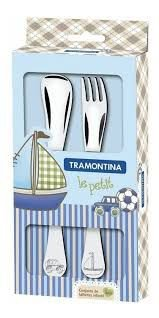 Kit Talher Azul 2 Peças - Tramontina