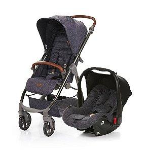 Carrinho Mint + Bebê Conforto + Adaptador - ABC Design