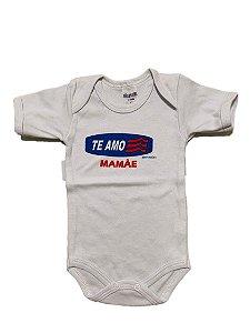BODY TE AMO MAMÃE MANGA CURTA - GENTE MIUDA