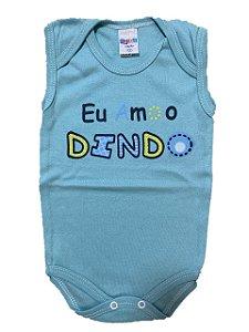 BODY EU AMO O DINDO REGATA - GENTE MIUDA
