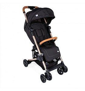Carrinho de Bebê Miinimo 2 - Pure Black Chicco