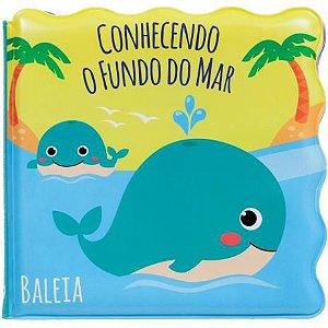 Livrinho De Banho Conhecendo O Fundo Do Mar - Buba