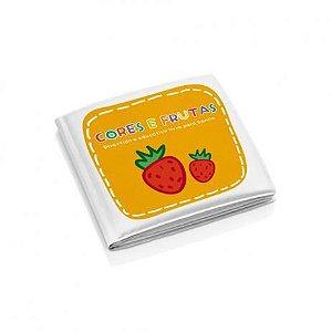 Livro de Banho Baby Educativo de Banho Cores e Frutas - Multikids