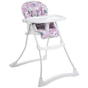 Cadeira De Refeição Papa e Soneca Peixinho Rosa - Burigotto