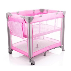Berço Portátil Mini Play Pop Rosa - Safety 1st
