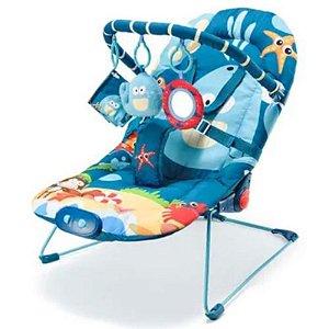 Cadeira de Descanso Little Nap Baleia - Multikids