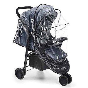 Capa de chuva universal para carrinho de bebê - Multikids baby