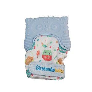 Luva Mordedor Coruja Azul - Girotondo Baby
