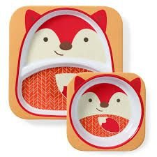 Set Pratos Zoo Raposa - Skip Hop