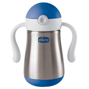 Copo Inox Power Cup 18m+ Azul- Chicco