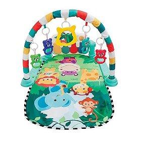Tapete De Atividades Para Bebê Com Piano Safari - Buba