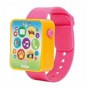 Relógio Watch Rosa- Buba