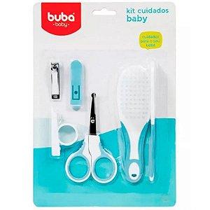 Kit Cuidados com o Bebê Azul - Buba