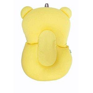 Almofada de Banho para Bebê Amarela - Buba